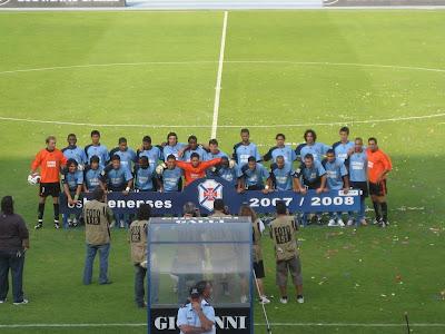 A foto da equipa 2007/08.