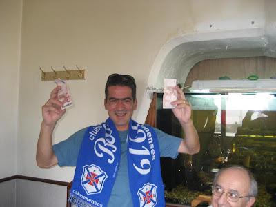 Pedro Santos ganha nova alcunha de paga-almoços!
