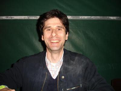 Este sou eu... Fotografia da autoria de Ulisses instantes antes do início do concerto.