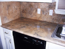 Counter tops compliment flooring