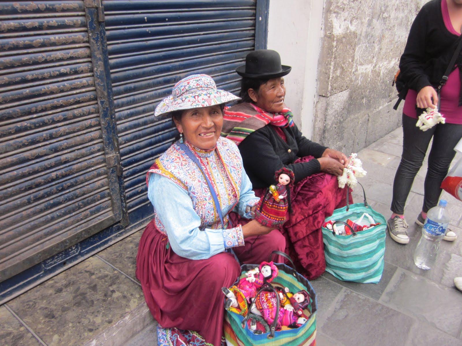 Street Vendors in Arequipa