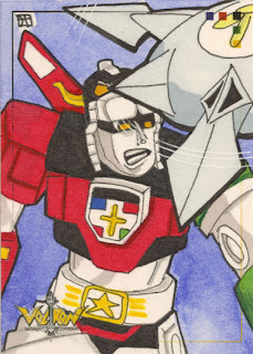 voltron, sketch card, j(ay), 5finity
