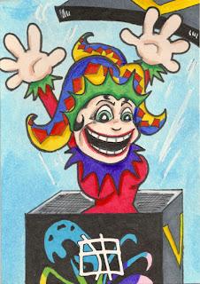 happy jack, sketch card