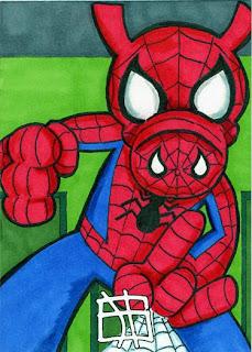 spider-ham, peter porker