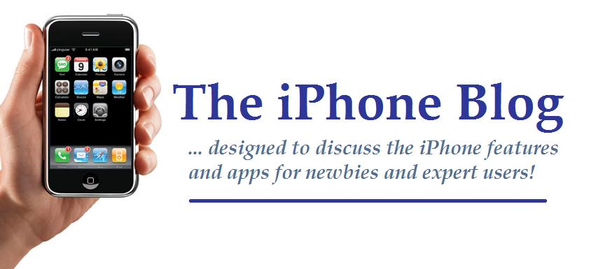The iPhone Blog