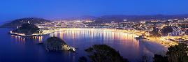 Donosti-San Sebastián de noche