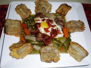 La loca cocina menestra de verduras - Menestra de verduras en texturas ...