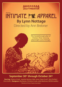 Intimate Apparel poster