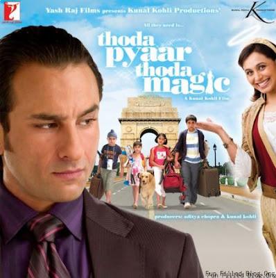 thoda pyaar thoda magic movie review film reviews saif rani fun cinmeas