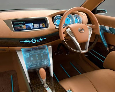 nissan intima concept car saloon luxury vehicle interior exterior photos pictures images 2009 japan america europe australia