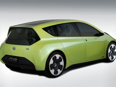 Toyota FT-CH Hybrid 2