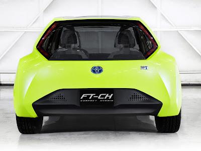 Toyota FT-CH Hybrid 3