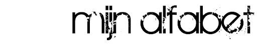 mijn alfabet