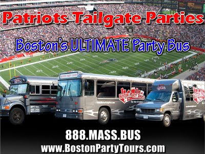 Patriots Tailgate Party Bus