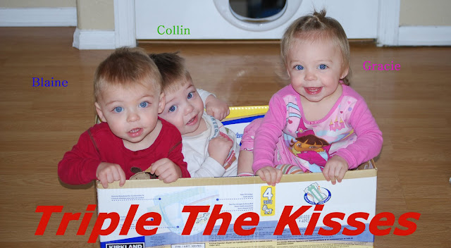 Triple the Kisses