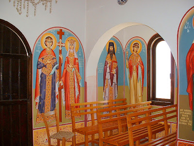 Wall paintings, Chapel of Saint Prophet Elias, Protaras