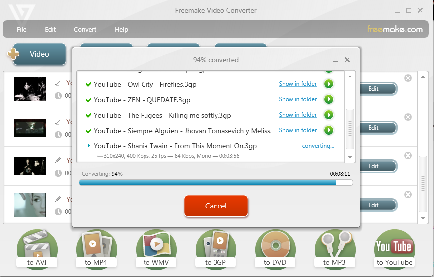 FreeMake Video Converter Key Gold Pack Crack Download