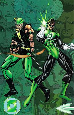 Bart Sears Green Lantern Gallery pin-up