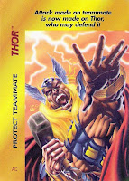 Bart Sears Marvel Overpower - Thor Protect Teammate card