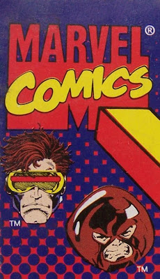 Bart Sears Steel Mutants Juggernaut v Cyclops corner box