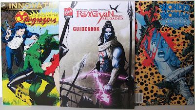 Bart Sears - Stargrazers #2, Ramayan Guidebook, Wonder Woman #28