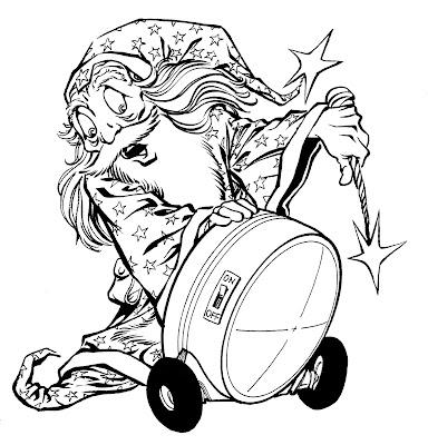 Bart Sears Wizard Mascot - Spotlight