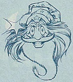 Bart Sears Wizard Mascot - Headshot