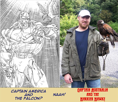 Captain America/Captain Australia