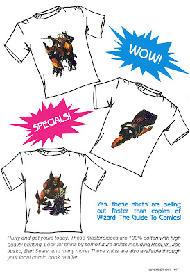 Wizard 3 T-Shirt advert