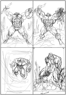 Bart Sears Cremator roughs