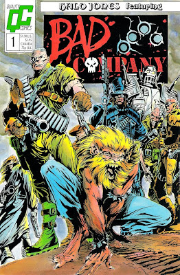 Bart Sears Bad Company #1 cover