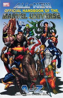 All-New Official Handbook of the Marvel Universe #2 cover