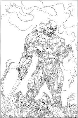 Bart Sears X-O unused pencils
