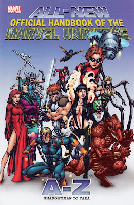 Marvel Handbook #10 cover