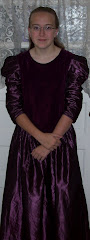 "Missie as a ""lovely lady"" for Reformation Day at FCA"