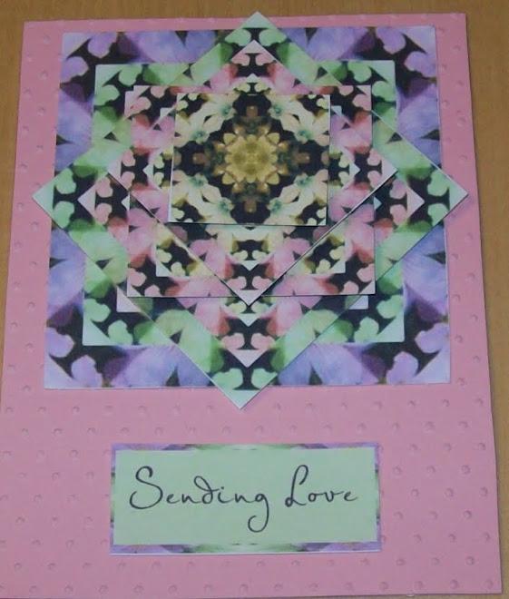 3D card - Sending Love