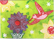 Another hummingbird card