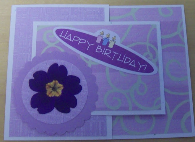 Joy fold card - Happy Birthday