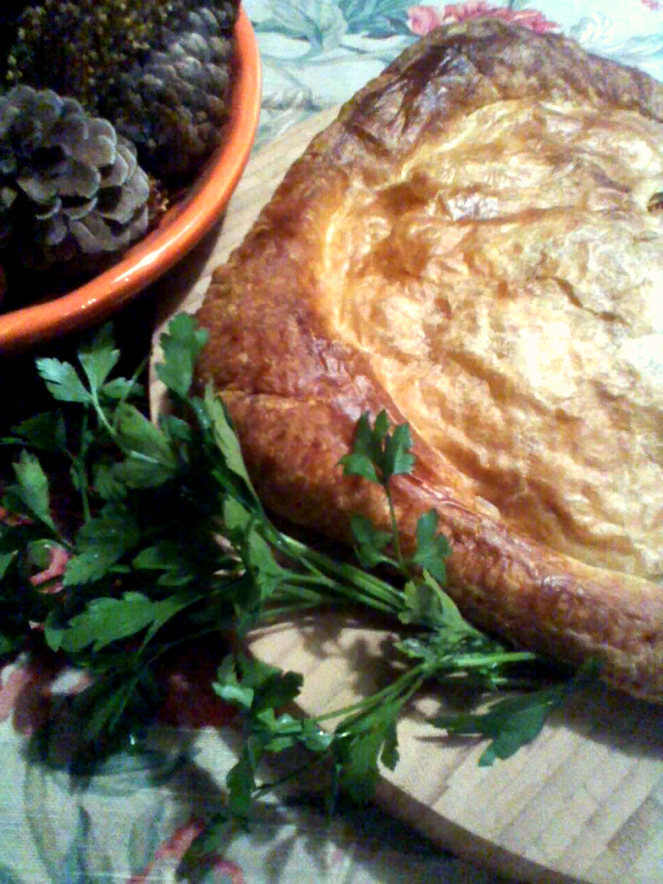 ... Week!~ An Autumn Stuffed Bread, Salmon Pie, and Lemon Curd Cookies
