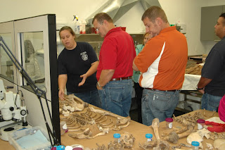 Teachers tour Southeast Texas Applied Forensic Science Facility
