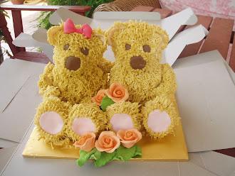 Cutie Teddy Bear Cake
