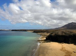 Lanzarote Beach at Papagayo
