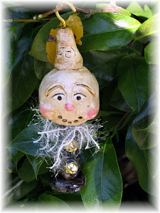 ooak snowman ornament