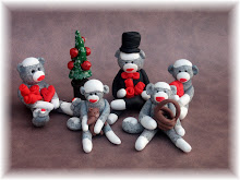 Miniature Sock Monkey's