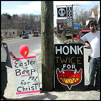 Honk Twice for Satan