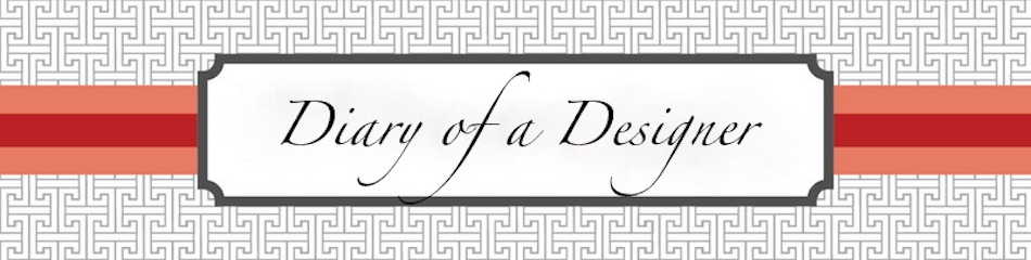 Diary of a Designer