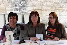 Firma de libros en San Jordi (Vilaseca)