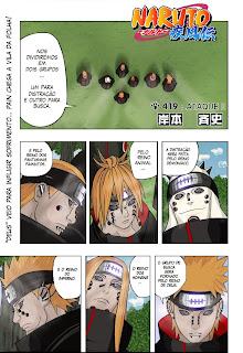 Naruto Mangá 419 (Colorido)