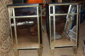 Dreams Perfection Horchow Mirrored Chests on Craigslist