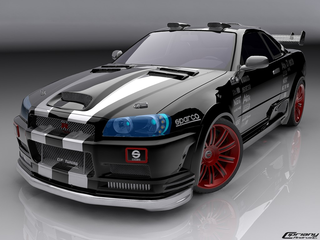 car wallpapper: Nissan Skyline picturescar wallpaper